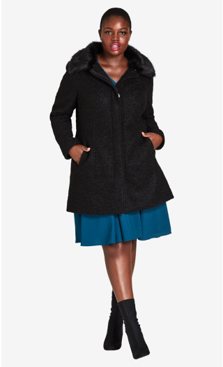 Sweet Dreams Coat - black
