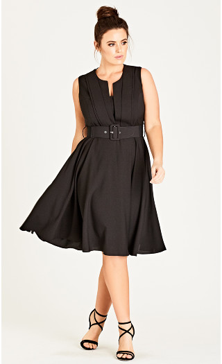 Vintage Veronica Dress - black