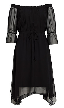 Reflections Dress - black