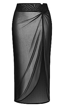 Poolside Skirt - black