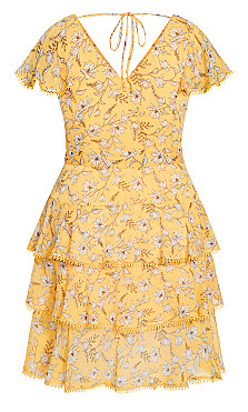 Amber Floral Dress - amber