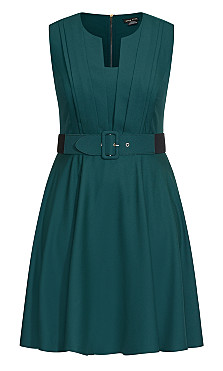 Vintage Veronica Dress - sea green