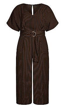 Romance Me Jumpsuit - black