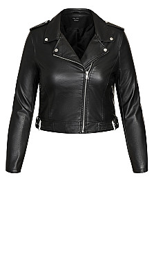Lust Biker Jacket - black