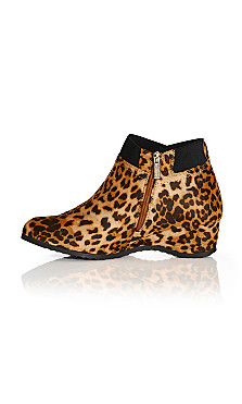 Keira Ankle Boot - animal