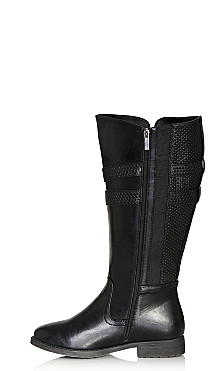 Norwalk Tall Boot - black
