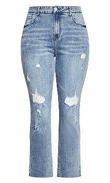 Harley So Jaded Skinny Jean - light wash