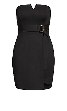 Night Fall Dress - black
