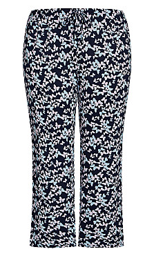 Butterfly Sleep Pant - navy