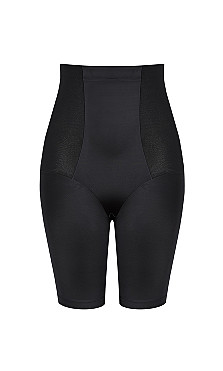 Smooth & Chic Thigh Shaper - black