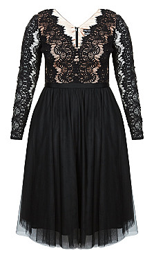 Rare Beauty Dress - black