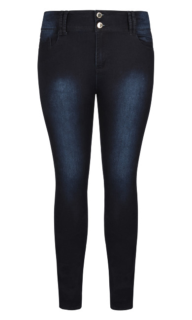 Asha Short Skinny Jean - denim