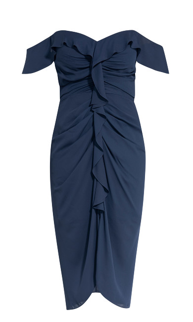 Va Va Voom Dress - navy