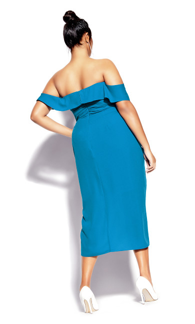 Va Va Voom Dress - blue
