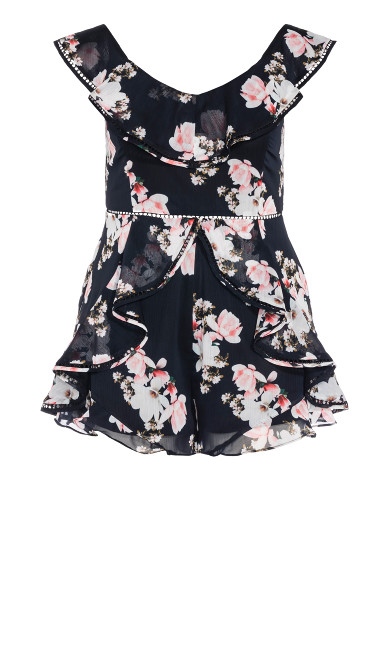Lotus Playsuit - black