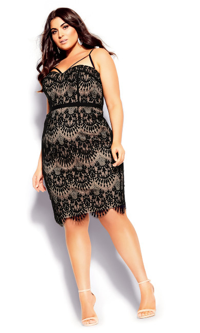 Women's Plus Size Brianna Dress - black
