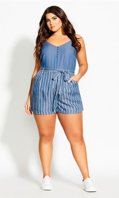 Denim Feel Cami - chambray