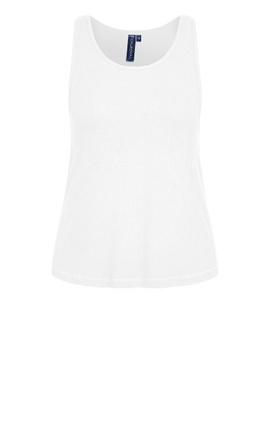 Lounge Swing Tank Top - ivory