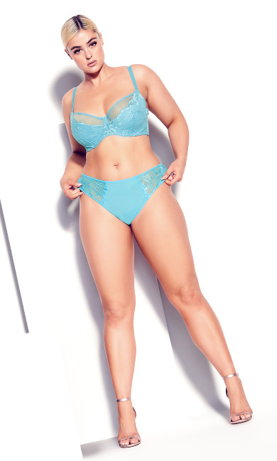 Duet Strappy Panty - turquoiseDuet Strappy Panty - turquoise