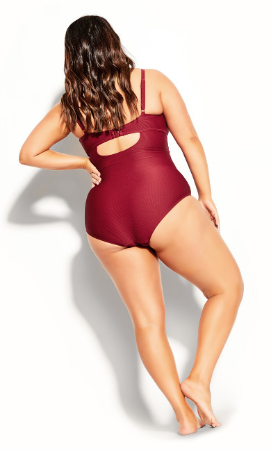 Andros 1 Piece - red