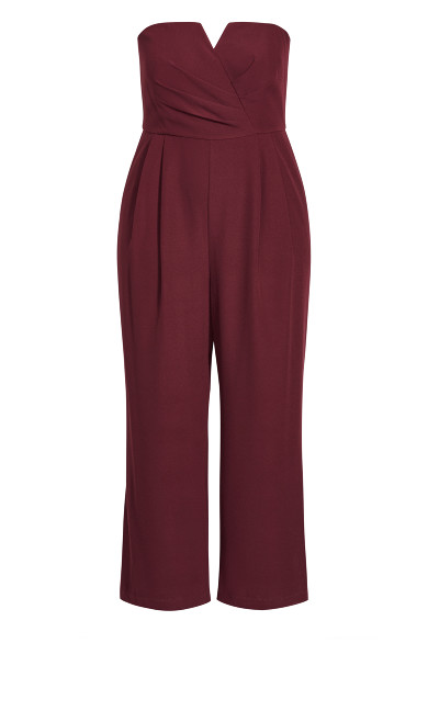 So Sassy Jumpsuit - bordeaux