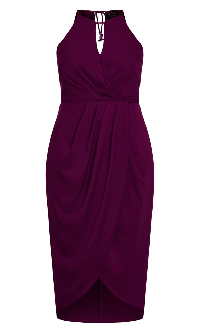 Love Story Dress - cerise