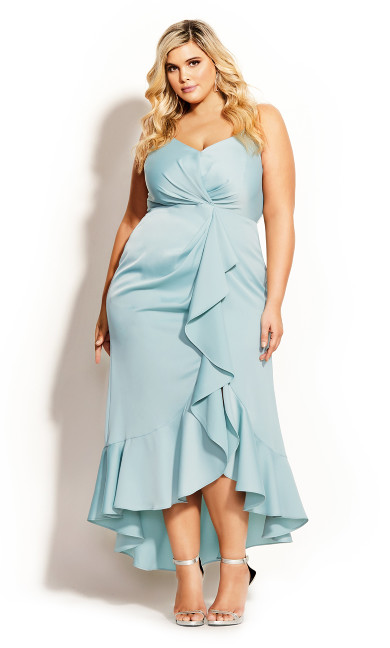 Passion Maxi Dress - seafoam