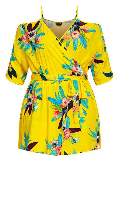 Elba Playsuit - buttercup