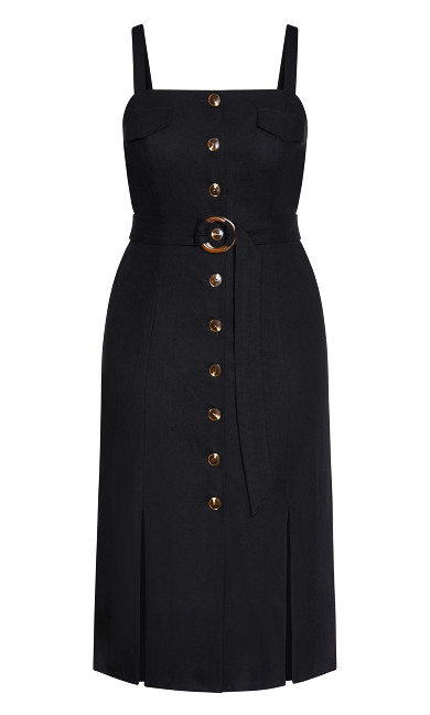Safari Chic Dress - black