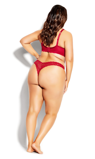 Sexy Glam Thong - berry