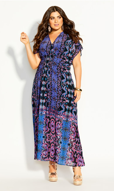 Soft Jagerry Maxi Dress - black