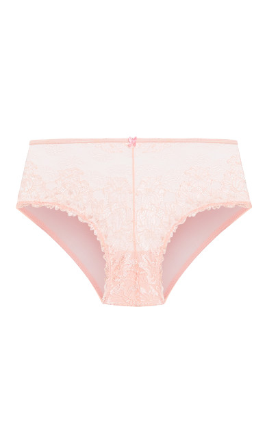 Cosette Lace Hipster - blush