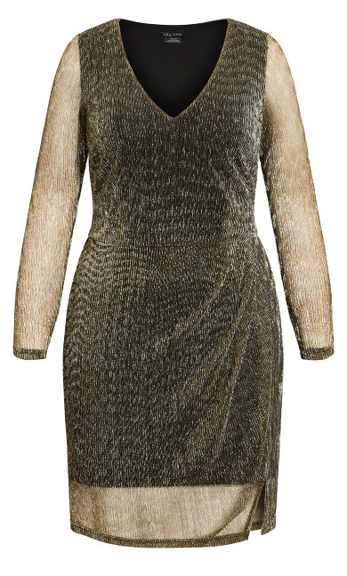 Sparkle Dress - gold