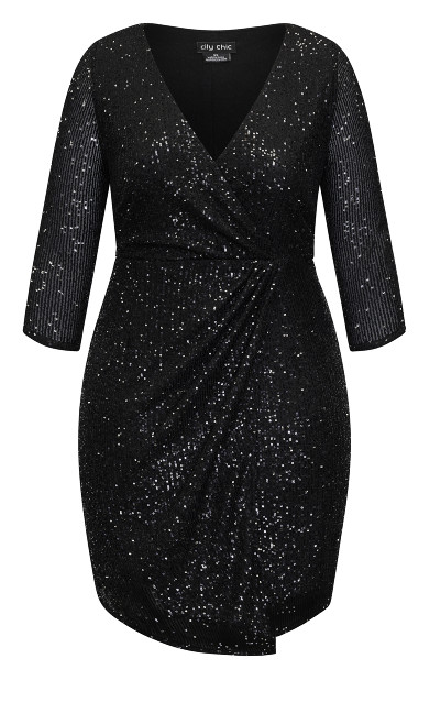 Razzle Dress - black