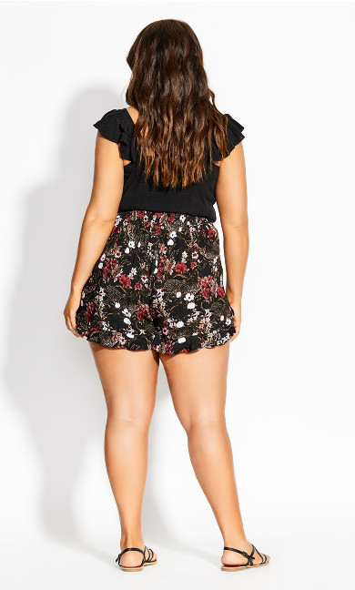 Tiger Short - black