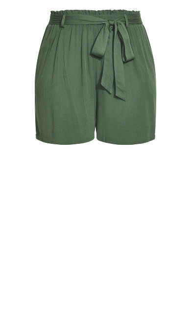 Tropical Tie Short - jungle