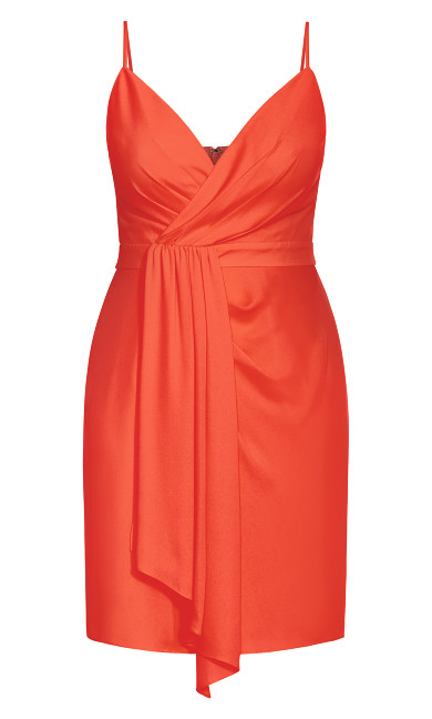 Delectable Dress - coral
