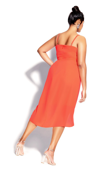 Sassy Affair Dress - coral