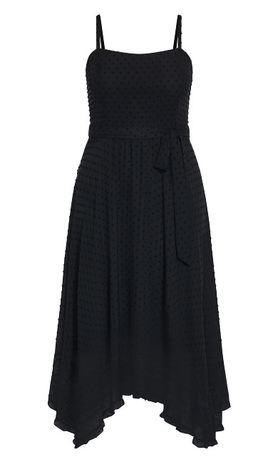 Flirty Nature Dress - black