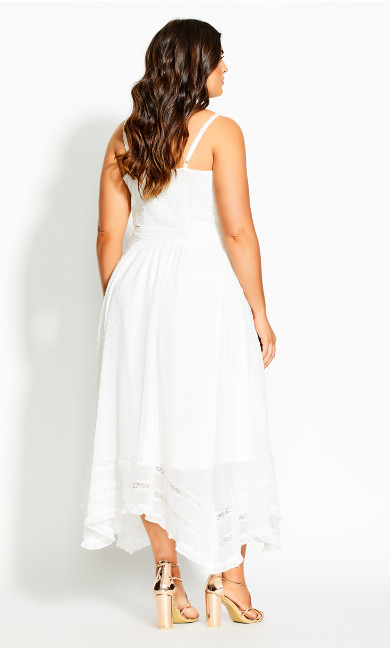 Flirty Nature Dress - ivory