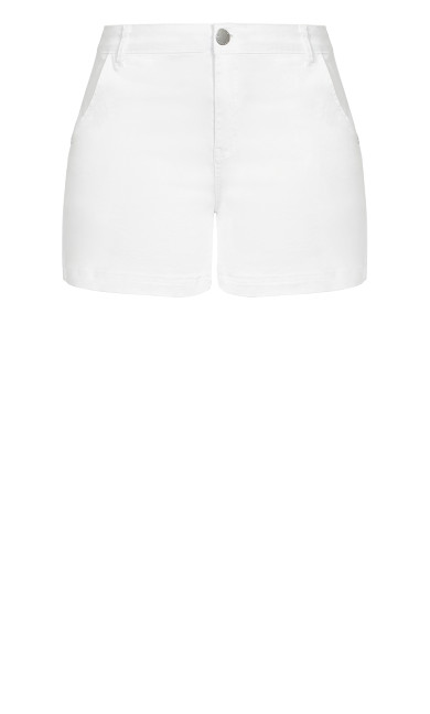 Denim Breeze Short - white