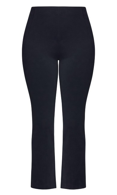 Donna Flare Pant - navy
