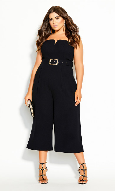 Seduce Jumpsuit - black