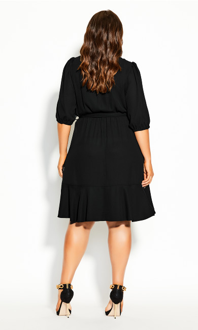Captivate Dress - black