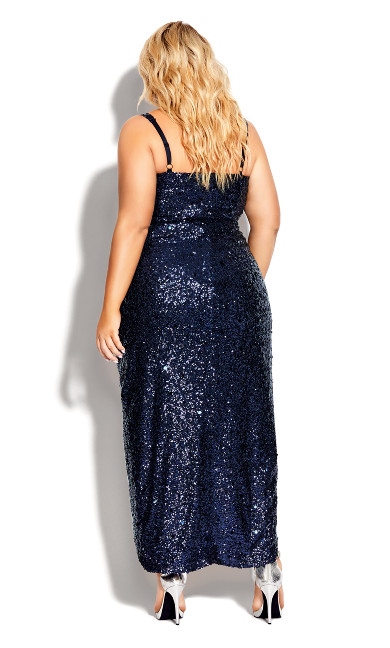 Star Desire Maxi Dress - sapphine