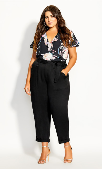 Plus Size Run Wild Pant - Black