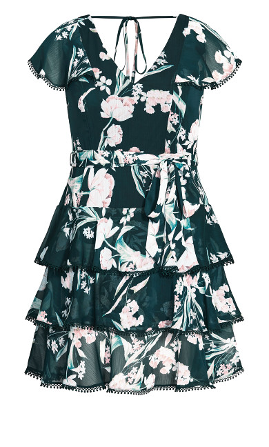Fresh Fields Dress - jade
