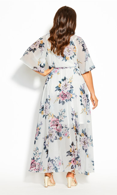 Summer Love Maxi Dress - ivory