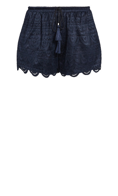 Lace Glamour Short - navy