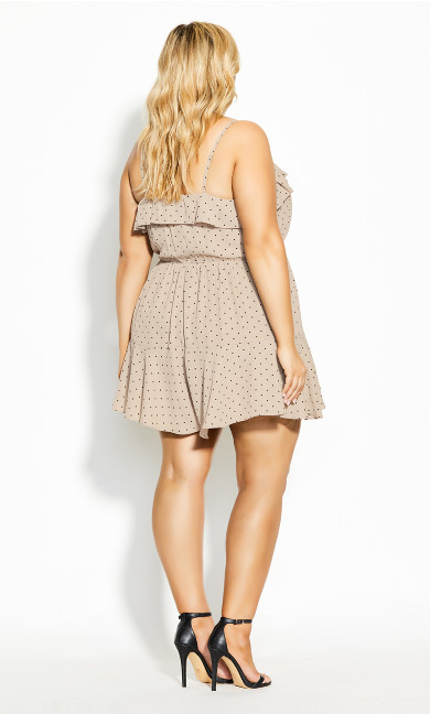 Ruffle Daze Playsuit - doe